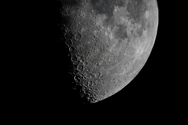 Half of a half Moon