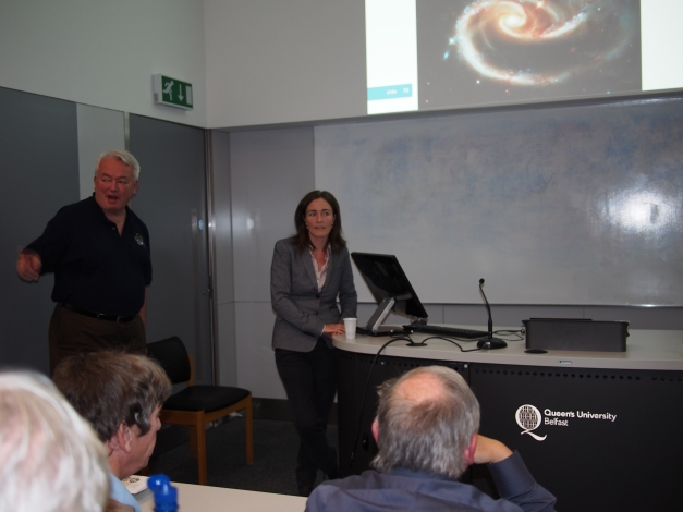 "Dr Deirdre Coffey, UCD ""Exploring the Cosmos.' The View from Hubble and Beyond""."