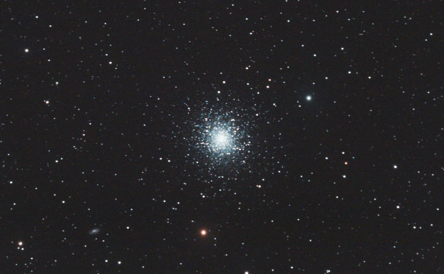 The most spectacular of the Northern hemisphere globular clusters.