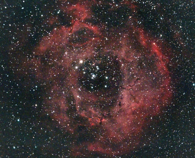 The Rosette Nebula (80mm refractor view)